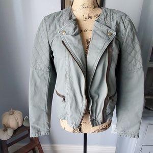 Gap moto style jacket